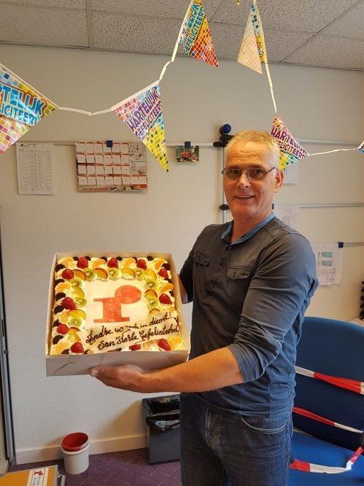 Andre Oostewechel 40 jaar in dienst bij Rensink bv!