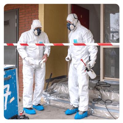 Werkwijze asbestsanering